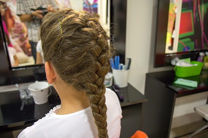 Hairstyles For Kids With Long Hair   French Braid