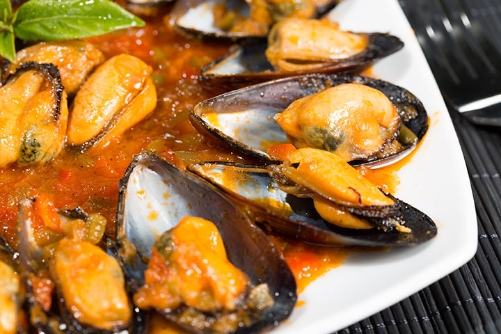 Mussels While Pregnant - French Country Mussels