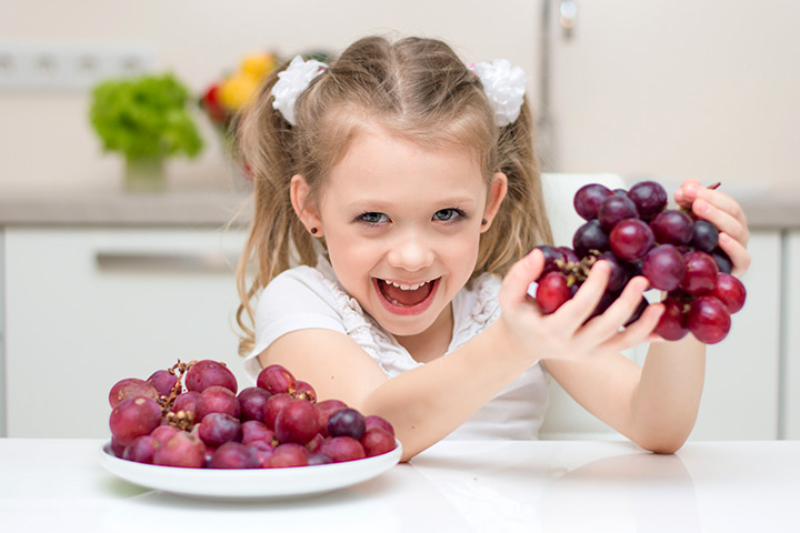 Grapes For Toddlers And Young Kids