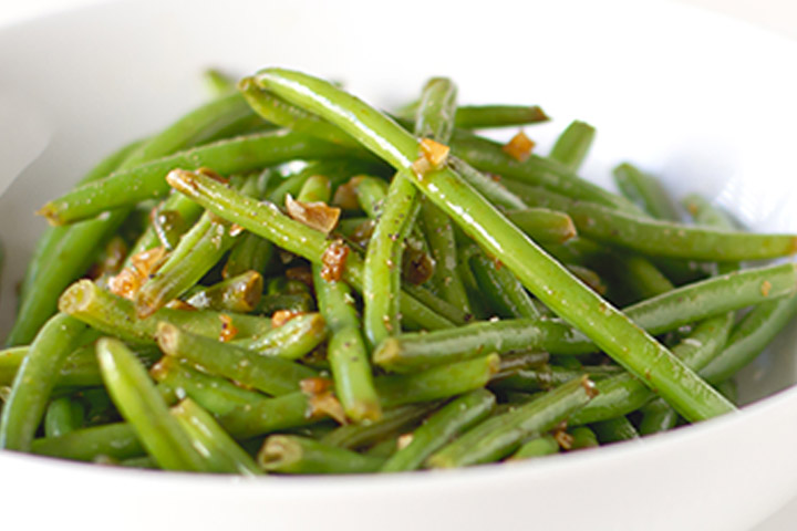 Green Bean Bundles With Garlic Browned Butter