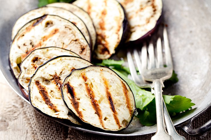 Eggplant Baby Food Recipes - Grilled Eggplant