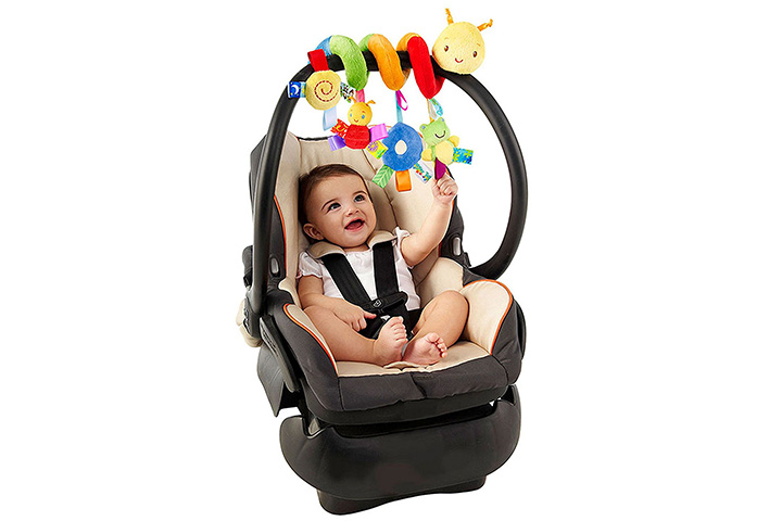 Guurachi Multi-function Decoration Infant Baby Activity Spiral