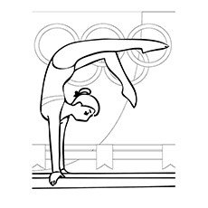 Olympics Sport Coloring Pages