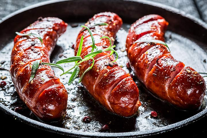 Honey And Balsamic Glazed Sausages