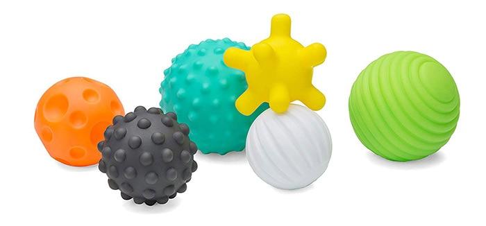Infantino Textured Multi Ball Set 61739