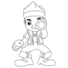 Pirate Coloring Pages - Jake And The Neverland Pirates