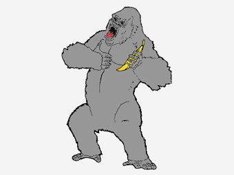 Top 10 King Kong Coloring Pages For Toddlers