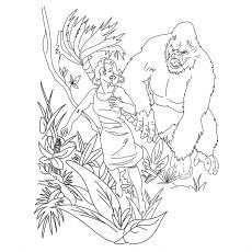 King Kong Chasing Ann