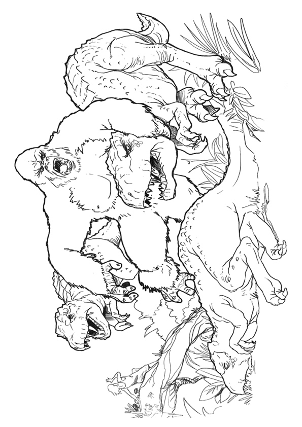 King-Kong-Fighting-The-Dinosaurs