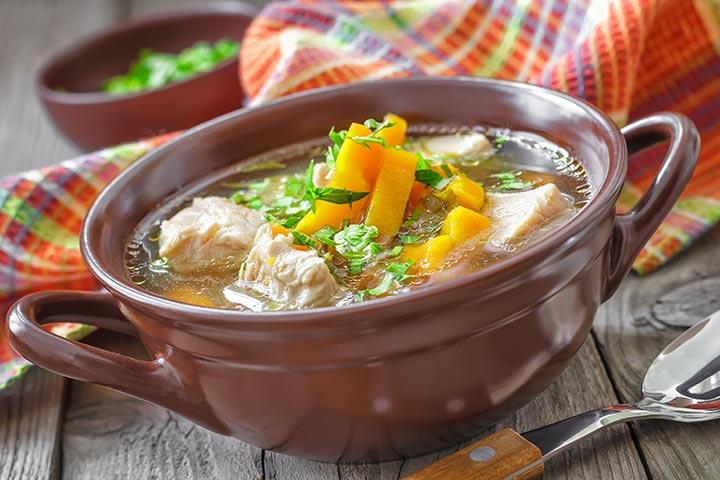 Lamb Trotter Or Paaya Soup