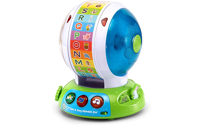 LeapFrog Spin and Sing Alphabet Zoo 7636