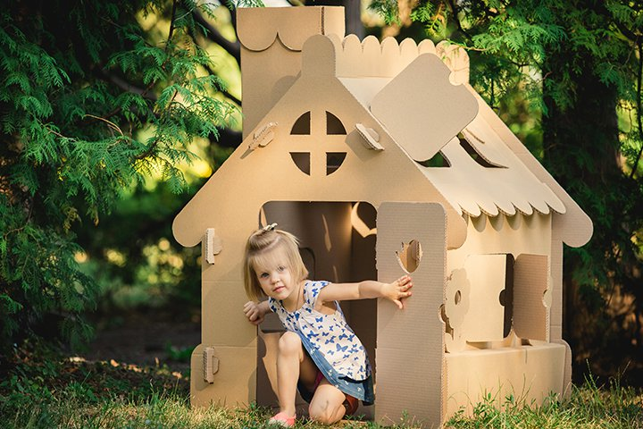 Summer Activities For Kids - Life Size Playhouse