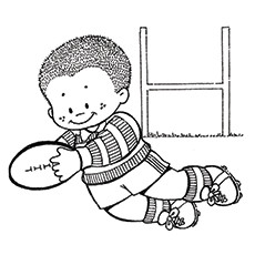 10 Amazing Rugby Coloring Pages For Your Little One Rugby League Colouring Pages