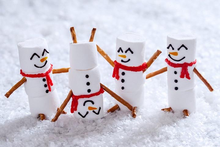 Marshmallow tinker toys