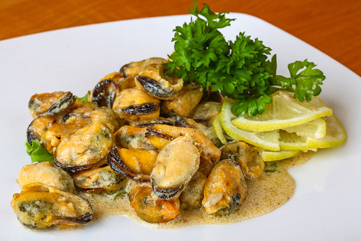 Mussels While Pregnant - Mussels In Garlic Butter