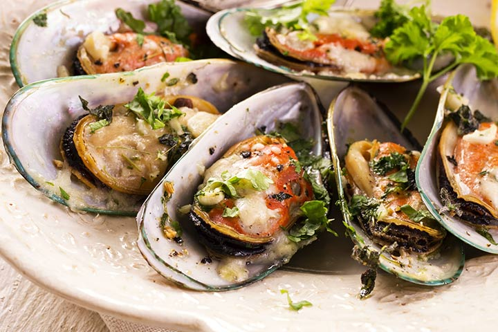 Mussels While Pregnant - Mussels South Of Two Borders