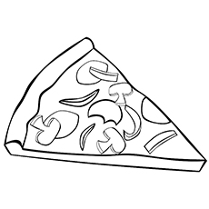 pizza coloring pages new york pizza