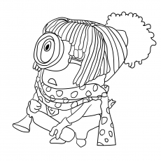Norbert Pic to Color for Kids