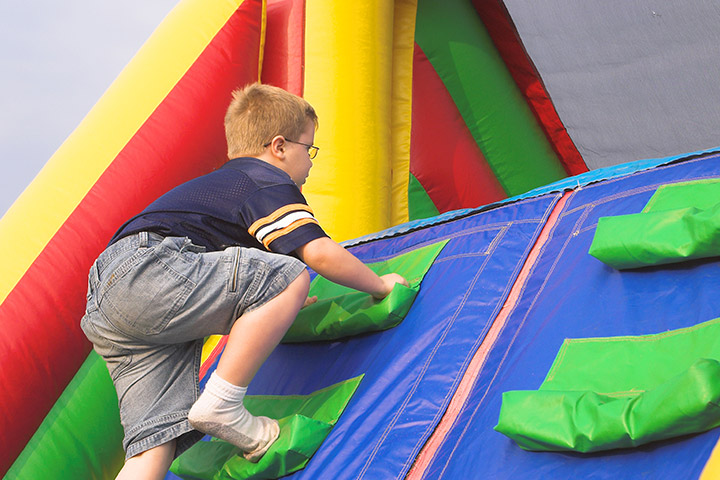 Spring Activities For Kids - Obstacle Course