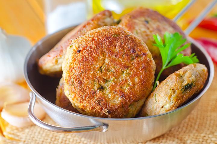 Paneer Recipes For Kids - Paneer And Corn Kebab