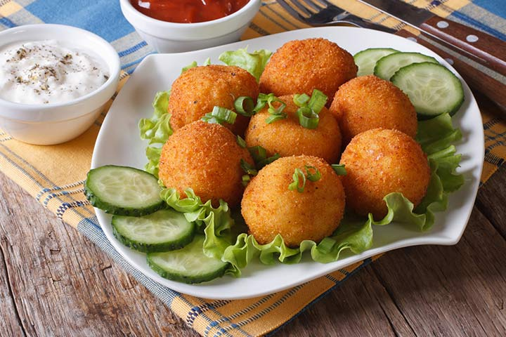 Paneer Recipes For Kids - Paneer Croquettes