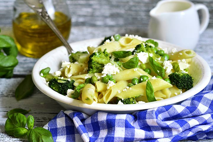 Paneer Recipes For Kids - Paneer Pasta