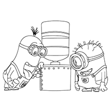 35 Cute Minions Coloring Pages For Your Toddler