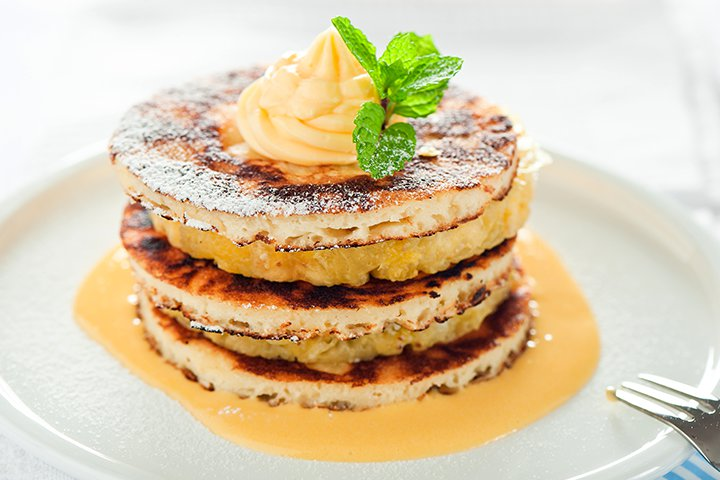 Pineapple Recipes For Kids - Pineapple Pancakes