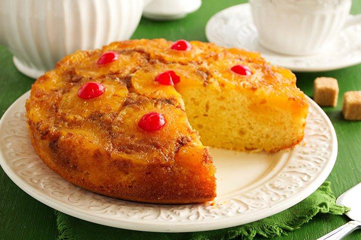 Pineapple Recipes For Kids - Pineapple Upside Down Cake