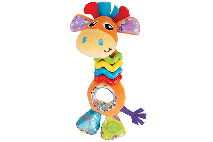 Playgro My First Bead Buddies Giraffe8775