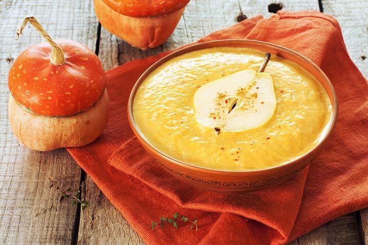 Pumpkin & Pear puree