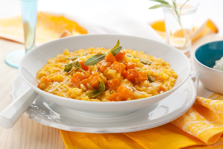 Indian Baby Food Recipes - Pumpkin Rice