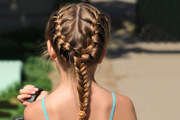 Easy Hair Styles For Kids 9 Quick And Easy Hairstyles For Kids With Long Hair