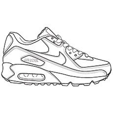 Rugby Coloring Pages - Rugby Shoes