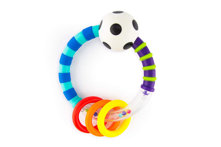 Sassy Ring Rattle 6670