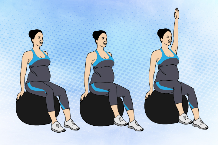 Seated-Ball-Stability-Hold