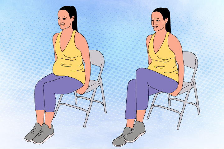 Sitting-Knee-Lift