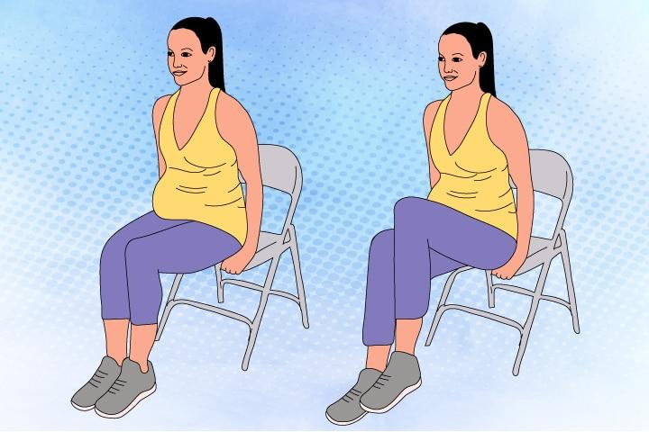 Sitting-Knee-Lift