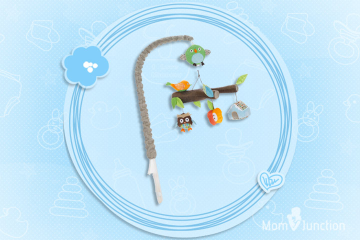 Toys For 1 Month Old Baby - Skip Hop Treetop Friends Crib Mobile
