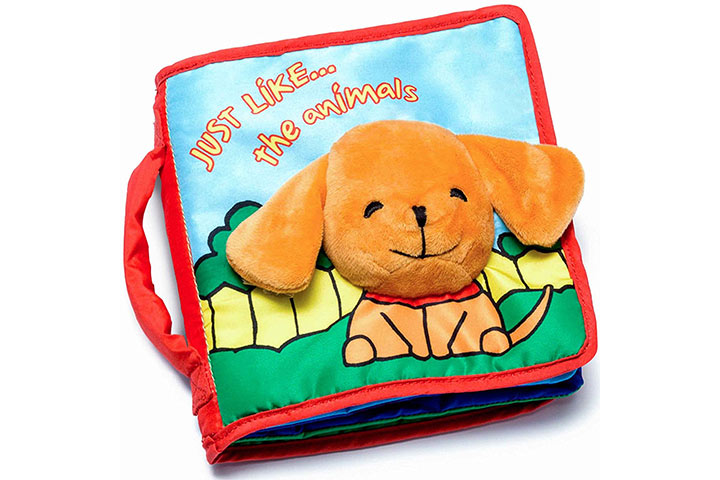 Soft Cover Book for Babies & Toddlers