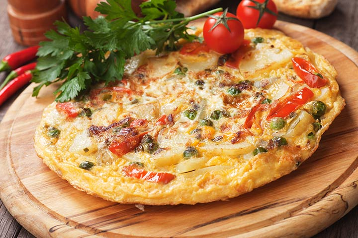 Spanish Omelet With Peppers