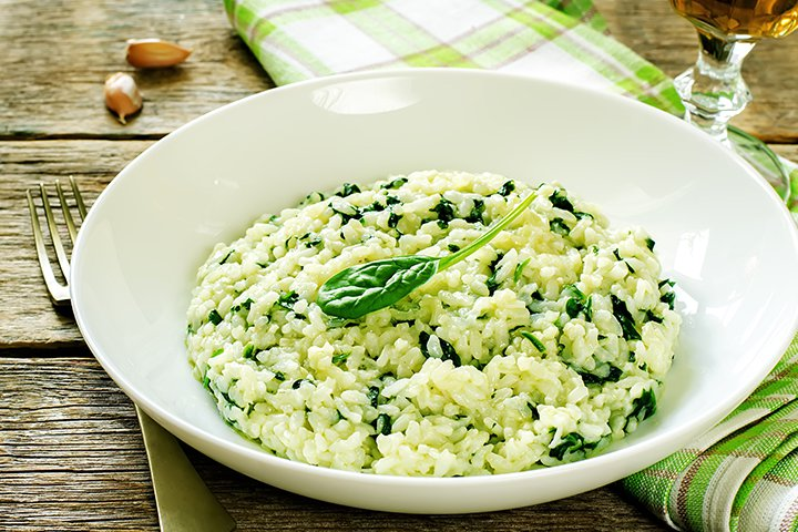 Paneer Recipes For Babies - Spinach And Paneer Rice