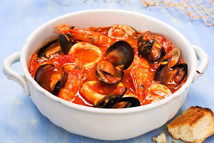 Mussels While Pregnant - Steamed Mussels In Tomato Broth