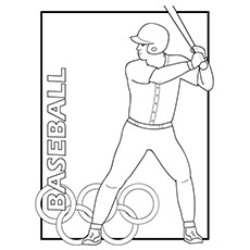 Olympic Sport Coloring Pages