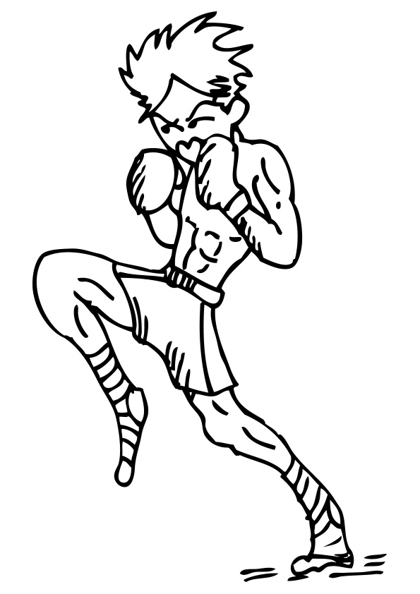 The-Boxing-Coloring-Pages-Olympics-Boxing