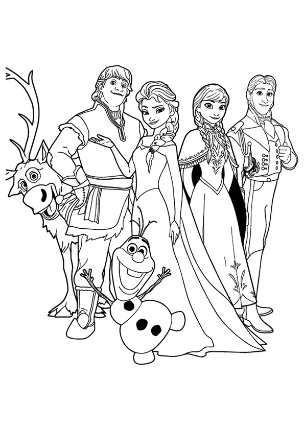 The-Cast-Of-The-Film-'Frozen'