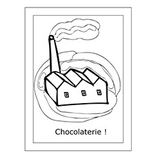 Charlie And The Chocolate Factory Coloring Pages  - The Chocolate Factory