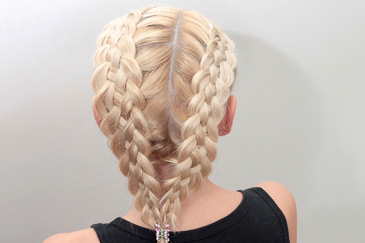 Beautiful Hairstyles For Kids With Long Hair   The Unique Fishtail Braid