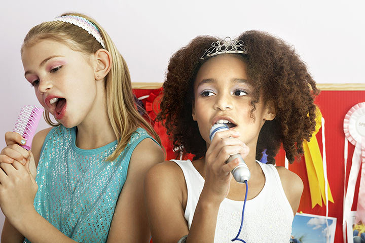 Rainy Day Activities For Kids - The home karaoke show