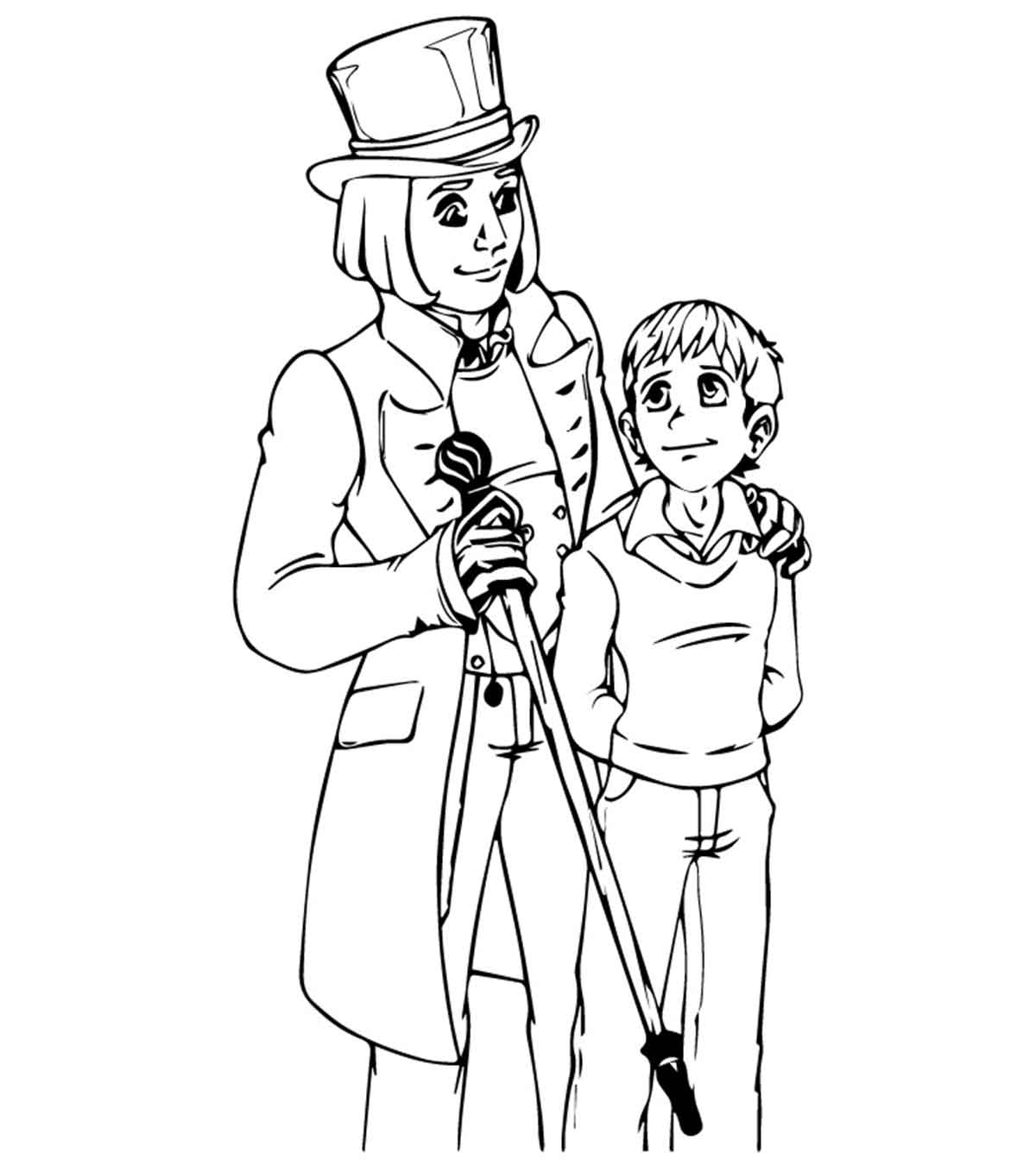Top 10 Charlie And The Chocolate Factory Coloring Pages For ...